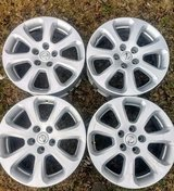 Set of Nissan rims in Warner Robins, Georgia