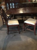 DUNCAN Phfye dining room table, chairs and buffet in Lawton, Oklahoma