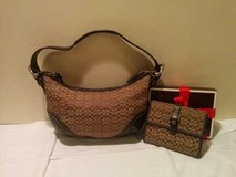 Coach Mini Hobo Purse + Wallet in St. Charles, Illinois