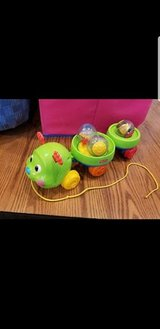 Fisher price roll around caterpillar in Joliet, Illinois