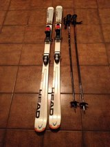 HEAD 156cm Skiis and Pole in Ramstein, Germany
