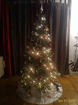 FREE!!! 6.5 Feet Tall Christmas Tree in Ramstein, Germany