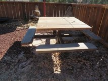 Picnic Table bases in Alamogordo, New Mexico