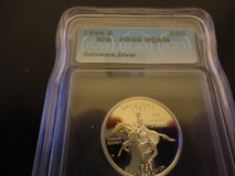 1999s pr68 deep cameo deleware quarter in Fort Campbell, Kentucky