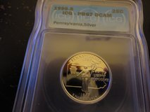 1999s pr67dc silver penn quarter in Fort Campbell, Kentucky