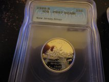 1999s pr67 dc new jersey silver quarter in Fort Campbell, Kentucky