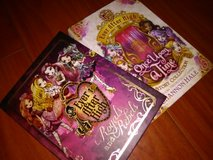 two new Ever After High books in Warner Robins, Georgia