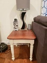 wood end table in Chicago, Illinois