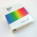 1987 PANTONE LIBRARY OF COLOR 747XR: Volume 2 Tint Selector VG+ in Glendale Heights, Illinois