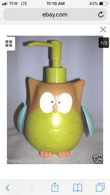 OWL soap dispenser in Chicago, Illinois