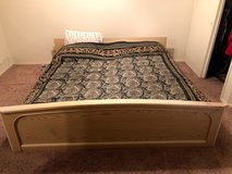 King SIze Bed, Made in Germany in Lackland AFB, Texas
