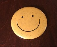 Smiley Face Pin in St. Charles, Illinois