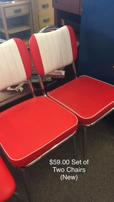 Set of 2 Chairs (New) in Fort Leonard Wood, Missouri