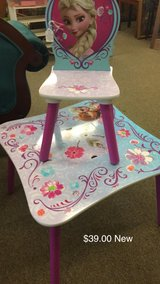 Table and Chair (New) in Fort Leonard Wood, Missouri