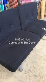 Futon with Cover (New) in Fort Leonard Wood, Missouri