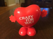 Vintage Wind-Up Heart in Shorewood, Illinois