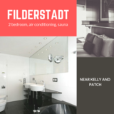 Air conditioning and sauna, Close to Kelly and Patch - Filderstadt in Stuttgart, GE
