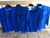 Lot of Royal blue tops in Ramstein, Germany