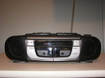 Emerson Dual Cassette  Player and Recorder and Radio in Original Box- Works Perfectly in Beaufort, South Carolina