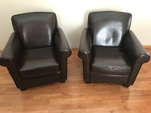 Leather chairs in Naperville, Illinois