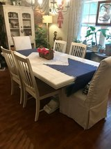 Beautiful heavy solid wood 'Restoration Hardware' table in Beaufort, South Carolina