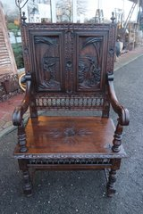 "georgeous Breton ""husband"" chair in Spangdahlem, Germany"