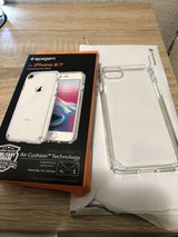 iPhone 7 / IPhone 8 case (transparent bumper) Spigen in Stuttgart, GE
