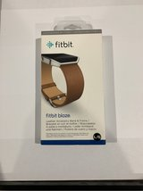 Fitbit blaze Camel with stainless frame L/G in St. Charles, Illinois