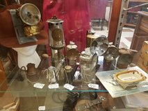 Antique Mining Lamps Carbide and Coal Oil in Fort Leonard Wood, Missouri
