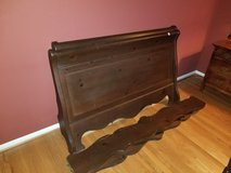 Sleigh bed - for double matress in Ottawa, Illinois