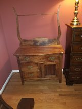 Antique washstand in Ottawa, Illinois