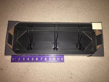New!  Rustic Black Wood Rack with Large Hooks in Chicago, Illinois