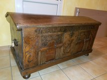 Antique German Hope Chest - 1803 in Spangdahlem, Germany