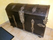 Antique German Hope Chest in Spangdahlem, Germany
