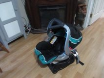 INFANTS BABY TREND CAR SEAT AND BASE MANUFACTURED 9/17 in Cleveland, Texas