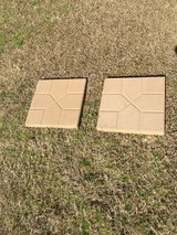 2 concrete patio stepping stones in Camp Lejeune, North Carolina