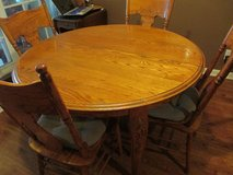 "Dinning Table Solid Wood 48"" round or 72"" oval in Fort Campbell, Kentucky"