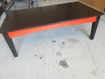 Coffee table in Fort Riley, Kansas
