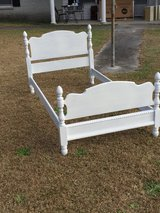 Twin size solid maple bed in Camp Lejeune, North Carolina