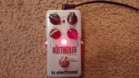 PRICE REDUCED -- TC Electronic Rottweiler Distortion in Fort Leonard Wood, Missouri