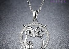 Cute Owl Pendant Necklace parent-offspring Parent and Kid Necklace in Moody AFB, Georgia