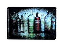 Retro Pub Bar Wall Poster Beer Tin Sign Shabby Chic Decor Metal Plaque in Moody AFB, Georgia