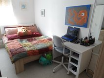 Buy Set or Buy Each! Full size bed, mattress, a cupboard, a dresser, a small table, a desk, a ch... in Ramstein, Germany
