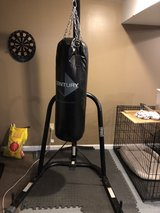 Heavy bag and stand in Quantico, Virginia