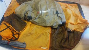 New Camping tent for 2 people with tent poles, hooks and storage bag in Wiesbaden, GE