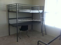 Ikea Loft bed with desk- Just disassembled- Delivery possible in Ramstein, Germany