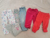 5 Pants for Girl size 2T (92) in Ramstein, Germany