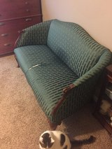 Green Sofa in Fort Campbell, Kentucky