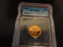 1954 pr 67 cameo obv. lincoln cent in Clarksville, Tennessee