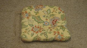 Yellow,Blue and Green Cushion in Naperville, Illinois